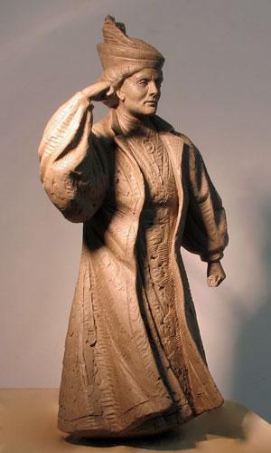 Martin Jennings - Emmeline Pankhurst maquette