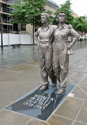 Martin Jennings - Women of Steel - Sheffield