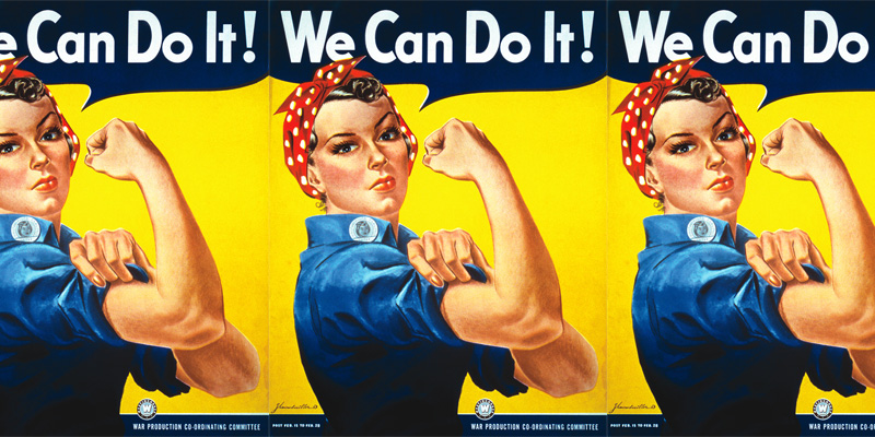 We-Can-Do-It! Rosie the Riveter