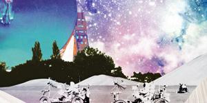 Bluedot festival poster image