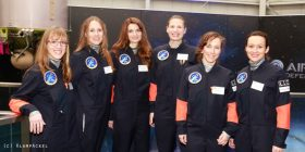 Die Astronautin candidates group photo