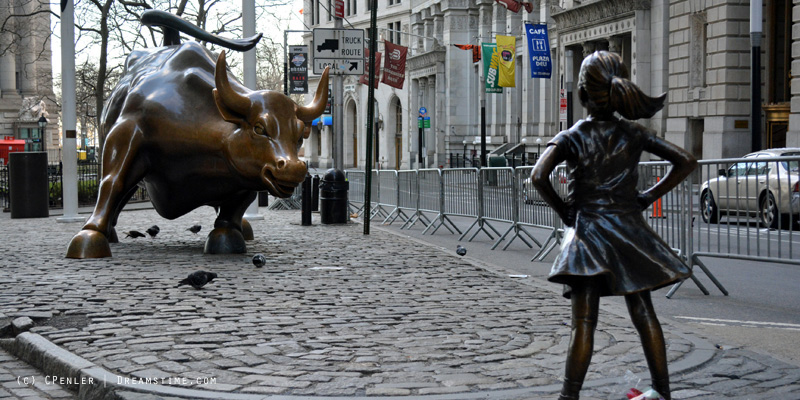 Fearless Girl by Kristen Visbal - State Street Global Advisors