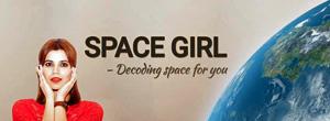 Shefali Sharma Space Girl banner