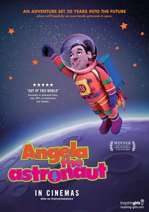 Angela the Astronaut - RedrawTheBalance