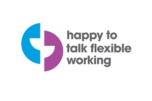Happy To Talk Flexible Working logo