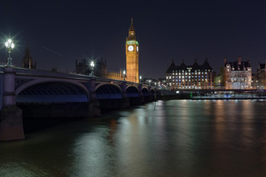 Westminster Bridge and Big Ben - London