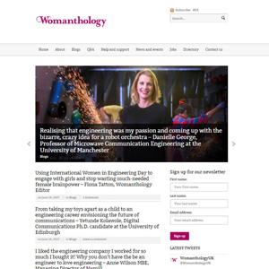 Womanthology Indiegogo page