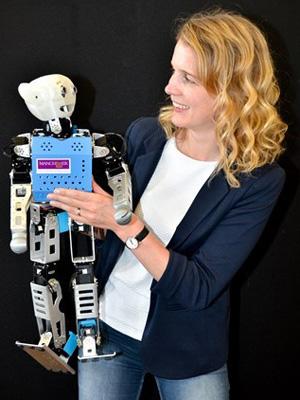 Professor Danielle George - Robot Orchestra
