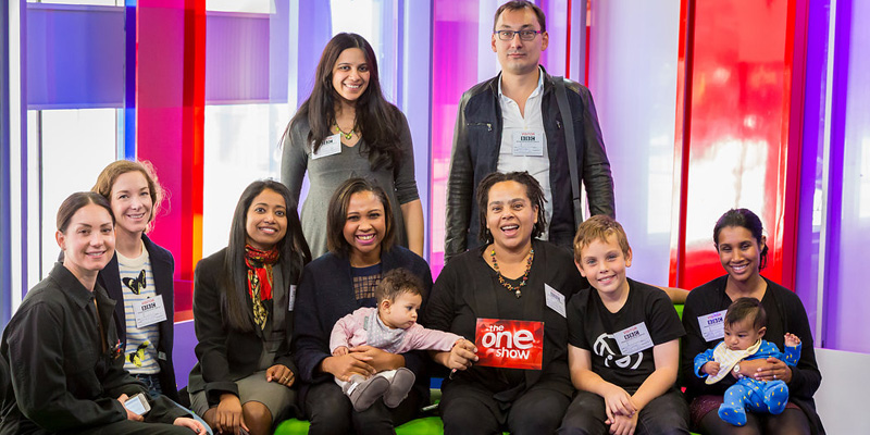 June Angelides and Mums in Technology on The One Show