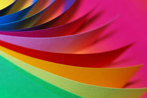 Coloured-paper
