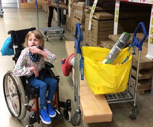 EJ Enjoying A Trip To IKEA