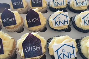 WISH Yorkshire and Humber cupcakes