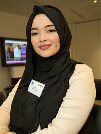 Fatima Benkhaled - Amazon Women in Innovation Bursary recipient