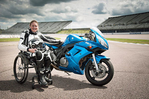 Claire Lomas MBE