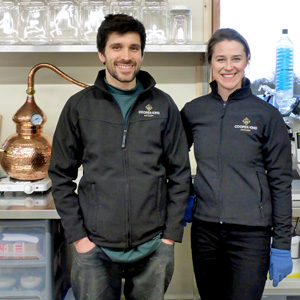 Chris-Jaume-and-Abbie-Neilson - Cooper King Distillery