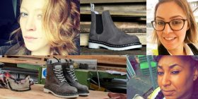 Dr Martens Industrial Champions collage