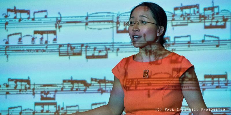 Dr Eugenia Cheng - Math-Music-Talk