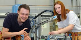 Andy-Smith-and-Robyn-Clarke---Toyota Manufacturing UK