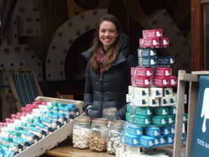 Harriot on the Mallow and Marsh stall