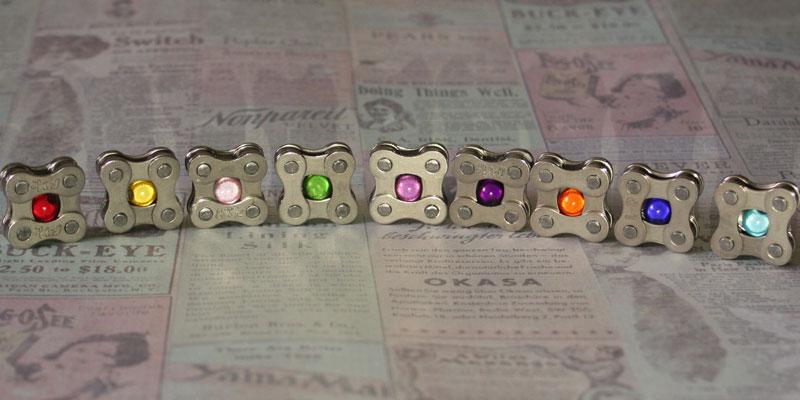 GreaseBugs Gear cufflinks