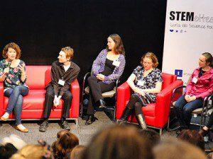 Stemettes event panel
