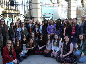 Cassandra Bankson meet-up in Dublin