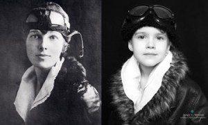 Emma and Amelia Earhart