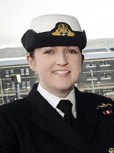 Alexandra Olsson - women submariners