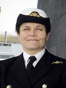 Lt Penny Thackray - women submariners
