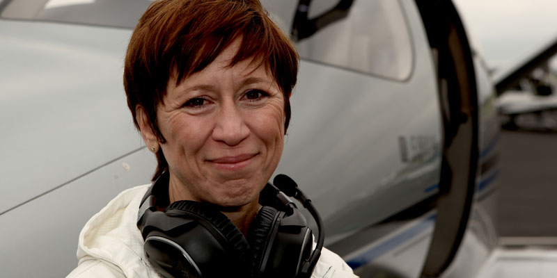 Mireille Goyer - Founder, Chair and President of the Institute for Women Of Aviation Worldwide