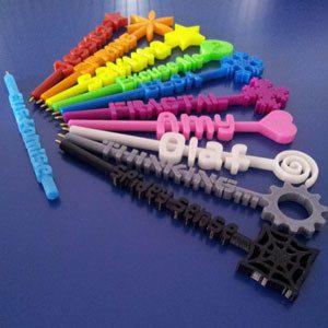 3D printing rainbow pens