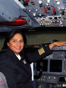 Kavistha Maharaj - South African Airways pilot