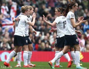 England women's footbal team