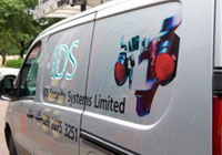 IDS Security Systems van