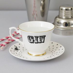 Notonthehighstreet.com gin in a teacup
