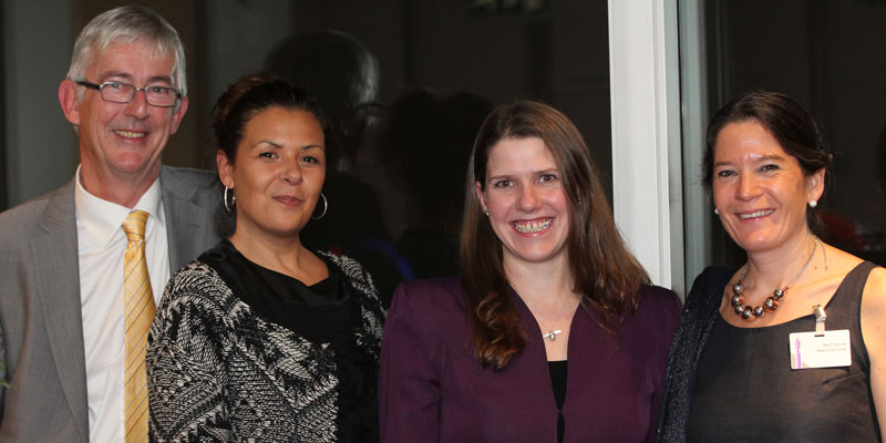 Jo Swinson at Mentorsme Awards