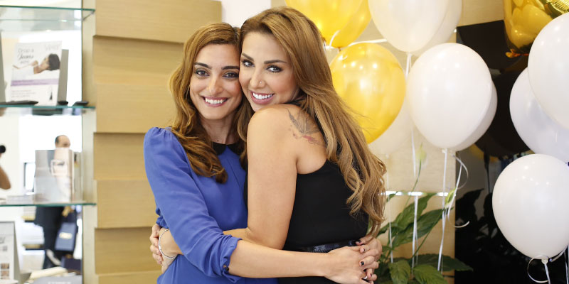 Lina Husri and Joelle Mardinian
