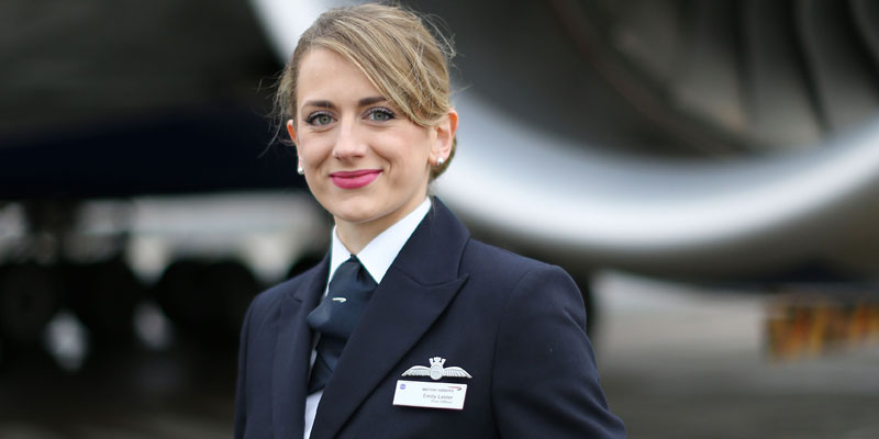 Emily Lester - British Airways First Officer