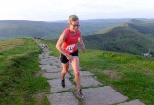 Gaye Fletcher running