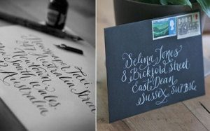 Kate Forrester calligraphy