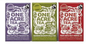 One Acre Tea packaging by Kate Forrester