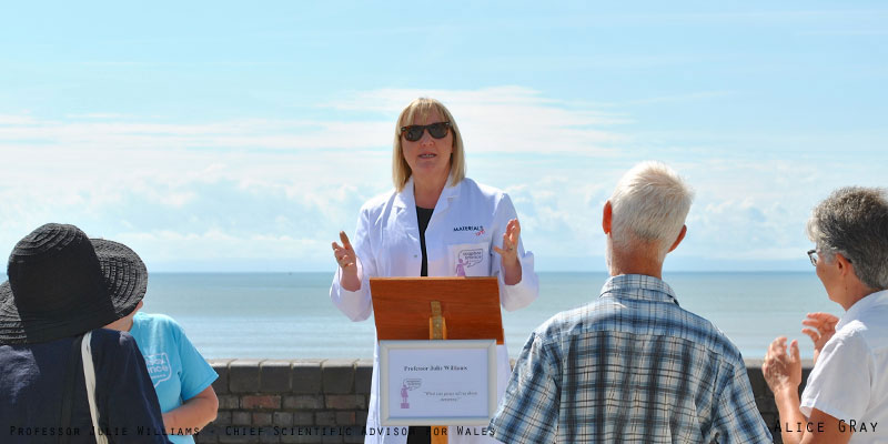 Professor Julie Williams - Soapbox Science