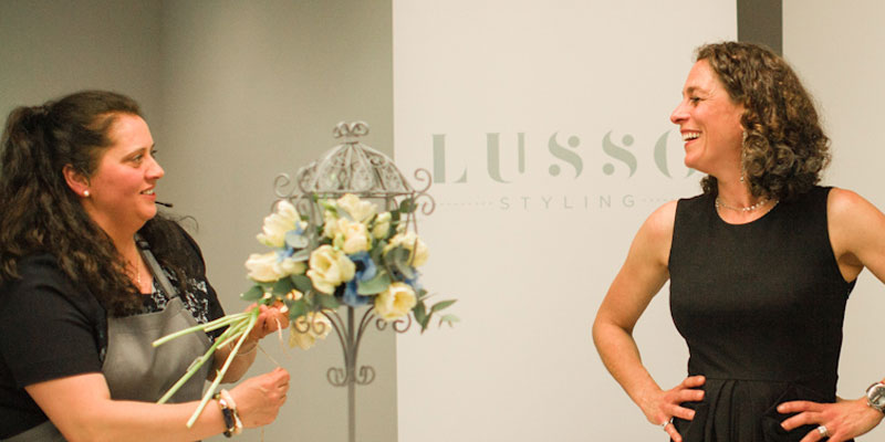 Jo-Amess of Lusso Styling with Alex Polizzi