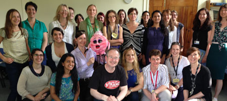Soapbox Science 2014 workshop with Robin Ince