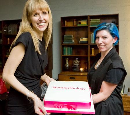 Womanthology cake