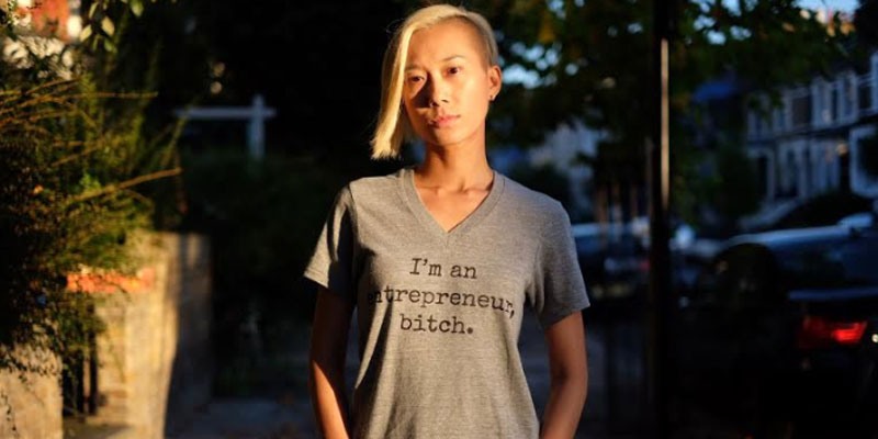 Tease and Totes - Entrepreneur Bitch t-shirt