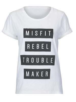 Tease and Totes Misfit t-shirt