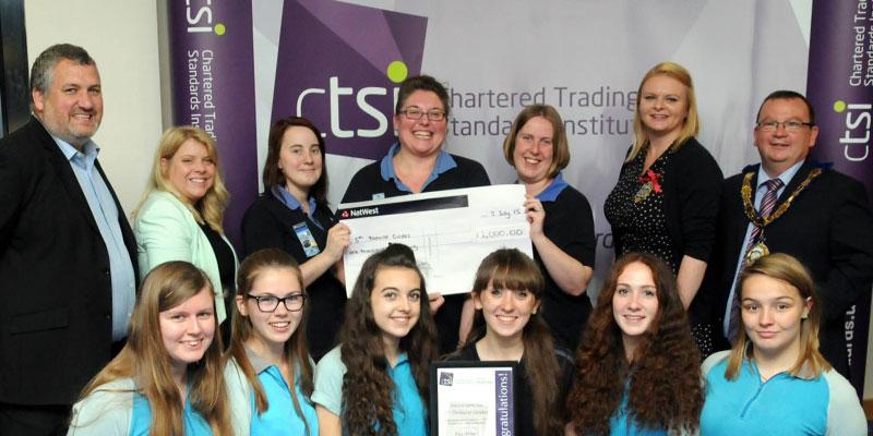 CTSI award 5th Tilehurst Guides