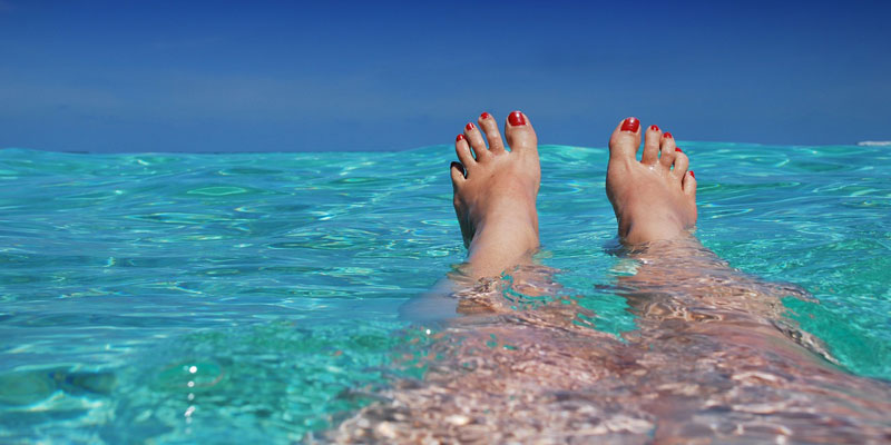 Floating-in-the-sea