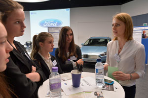 Ford Motor Company speed networking